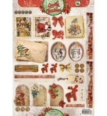 BILDER / PICTURES: Studio Light, Staf Wesenbeek, Willem Haenraets A4 cut sheets, Vintage Line Christmas labels / Trailers Studio Light