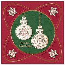 Sticker, Weihnachtskugel zum besticken