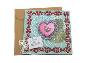 Joy!Crafts und JM Creation Transparent stamps Lovebirds