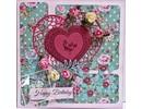 Joy!Crafts und JM Creation Transparenter Stempel, Lovebirds