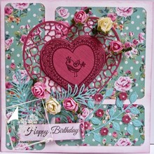 Joy!Crafts und JM Creation Transparent stamps Lovebirds