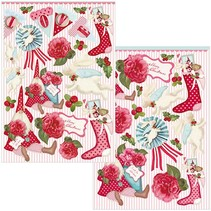 Tilda Set, 4 cut sheets, Christmas