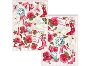 Tilda Tilda Set, 4 cut sheets, Christmas