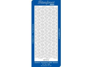 Sticker Glitter Klistermærker, rensdyr