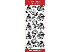 Sticker Detailed embossed stickers, Christmas motifs