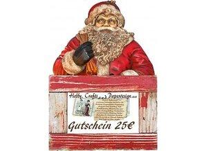 Buoni regalo da 15 € a 50 €