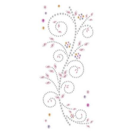 "Embellishments / Verzierungen Gemstone Etiqueta ""adornos"", rosa y blanco"