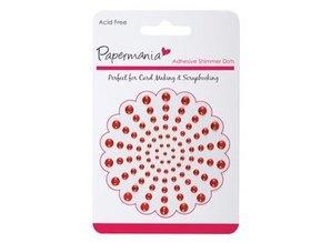Embellishments / Verzierungen Klæbende perler, rød