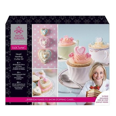 Exlusiv Ein exklusive Little Venice Cake Company-SET: Thema Herzen