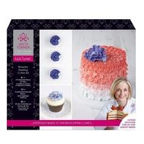 Un exclusivo flores Cake Pequeña Venecia Set