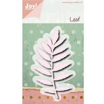 Stanz- und Prägeschablonen, Joy Crafts, Blatt