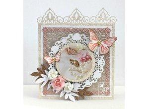 Joy!Crafts und JM Creation Cutting and embossing stencils Joy Crafts, leaf