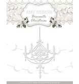 Amy Design Cutting and embossing stencils, Chandeliers