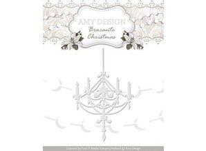 Amy Design Taglio e goffratura stencil, Lampadari