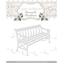 Cutting and embossing stencils, nostalgic Bench