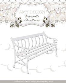 Amy Design Taglio e goffratura stencil, Panchina nostalgico
