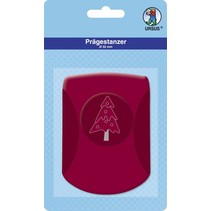 Embossing punch, 32mm, Christmas