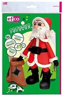 FOFUCHA Fofucha Santa Claus: cutting sheets + manual + stickers