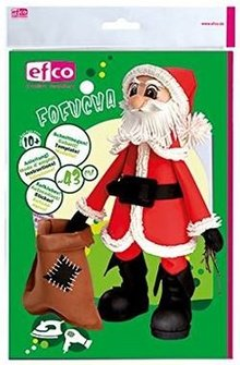 FOFUCHA Fofucha Santa Claus: fogli di taglio + adesivi manuale +