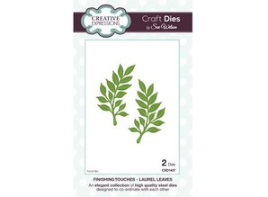 Creative Expressions Cutting and embossing stencils, leaves