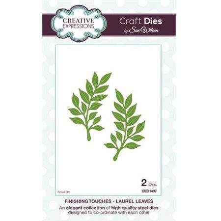 Creative Expressions Corte y estampado en relieve plantillas, hojas