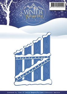 Precious Marieke Skæring og prægning stencils, Winter Wonderland
