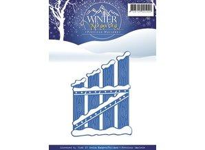 Precious Marieke Corte y estampado en relieve plantillas, Winter Wonderland