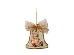 Embellishments / Verzierungen 3 vetri in acrilico, forma: campana, rotondo e valutazione