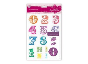 X-Cut / Docrafts Stamp with large numbers