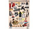 BILDER / PICTURES: Studio Light, Staf Wesenbeek, Willem Haenraets A4 cut sheets, Theme: Sports