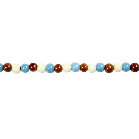 Schmuck Gestalten / Jewellery art 36 Trend keramiek kralen, maat 10 mm