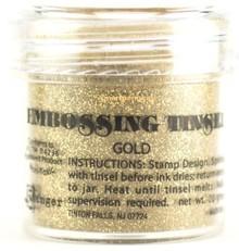 FARBE / INK / CHALKS ... Ranger, Embossing Powder, gold