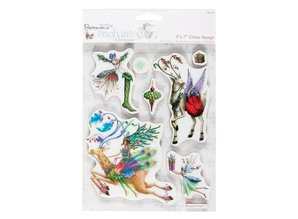 Docrafts / Papermania / Urban Rubber stamps, Christmas themes with nostalgic reindeer