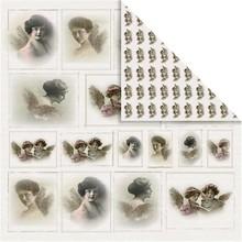 Designer Papier Scrapbooking: 30,5 x 30,5 cm Papier Carta Designer Nostalgic, 30,5 x 30,5 cm