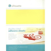 Double-sided self-adhesive sheets