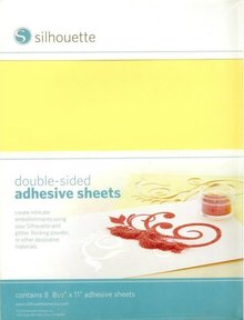 Silhouette Double-sided self-adhesive sheets