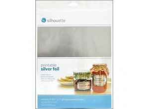 Silhouette Printable sticker film - Silver
