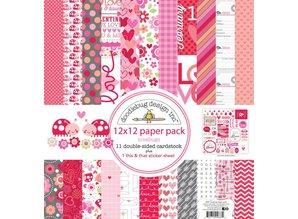 Designer Papier Scrapbooking: 30,5 x 30,5 cm Papier Diseñador de bloque, 30,5 x 30,5 cm