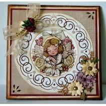 Nellie Snellen, stempelen en reliëf en borduren plaat!