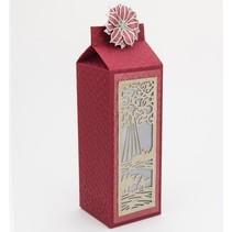 Ponsen en embossing stencil De feestelijke Collection - Wijzen Mini Striplet