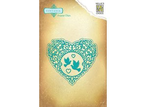Nellie snellen Stamping and Embossing stencil, Vintasia