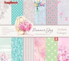 DESIGNER BLÖCKE  / DESIGNER PAPER Designer Block, Joy Paper Set