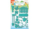 Joy!Crafts Punching and embossing stencil set, garden set