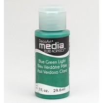Decoart acrílicos fluidos de comunicación, Azul, Verde, Luz