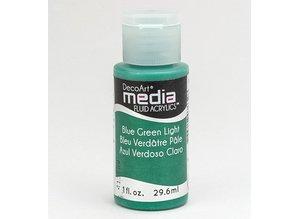 FARBE / INK / CHALKS ... Decoart acrílicos fluidos de comunicación, Azul, Verde, Luz