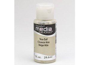 FARBE / INK / CHALKS ... DecoArt medier væske akryl, Titan Buff