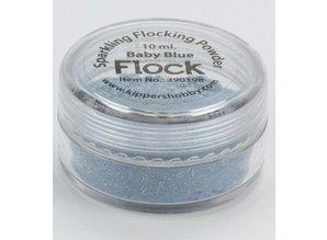 BASTELZUBEHÖR / CRAFT ACCESSORIES Velvet pulver, Sparkling Baby blå, 10 ml