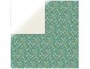 Designer Papier Scrapbooking: 30,5 x 30,5 cm Papier 1 bue designer papir, Elegance - Inspireret