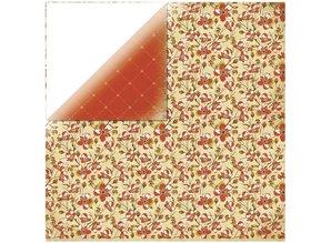 Designer Papier Scrapbooking: 30,5 x 30,5 cm Papier Carta progettista 1 arco, in soffitta - Closet