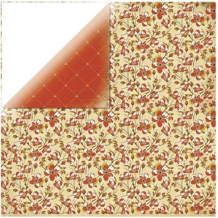 Designer Papier Scrapbooking: 30,5 x 30,5 cm Papier 1 arc ontwerper document, In the Attic - Closet
